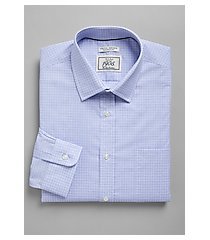 1905 collection tailored fit spread collar plaid repreve® dress shirt - big & tall, by jos. a. bank