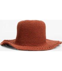 mango women's handmade crochet hat