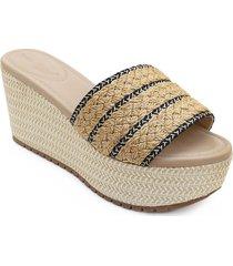 priceshoes sandalia plataforma confort dama 462keylanegro