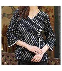 cotton tunic, 'ravishing rajasthan' (india)