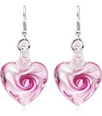 orecchini di gioielli etnici fatti a mano alla moda orecchini a forma di cuore orecchini a cuore per le donne