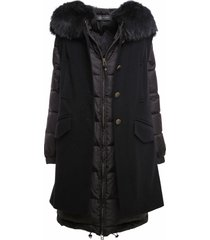 black double coat