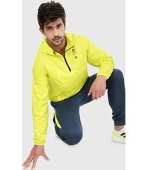 chaqueta amarillo neón adidas performance designed 2 move activeted tech