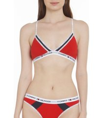 tommy hilfiger women's colorblocked bralette r70t238