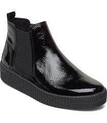 ankle boot shoes boots ankle boots ankle boots flat heel svart gabor