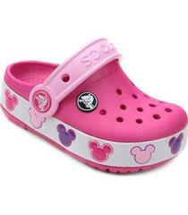 sandália crocs infantil disney mickey