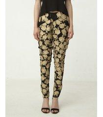 spodnie flower