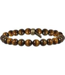 mr ettika bangle banger tiger's eye and brass bracelet