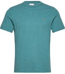 danny short sleeved t-shirt t-shirts short-sleeved blå farah