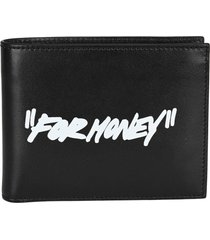 off white for money bi-fold wallet