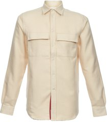 wood wood off white barking shirt 5310-1092