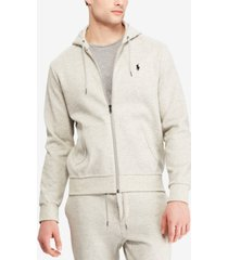 polo ralph lauren men's double-knit full-zip hoodie