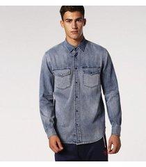 camisa diesel d-rooke masculina