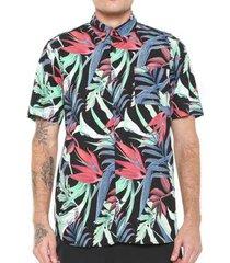 camisa hurley jungle trip