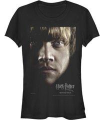fifth sun harry potter deathly hallows ron weasley big face poster women's short sleeve t-shirt