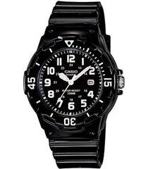 reloj casio lrw_200h_1bv negro resina