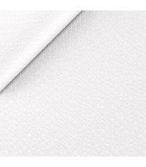 pantaloni da uomo su misura, lanificio subalpino, seersucker stretch bianchi, primavera estate | lanieri