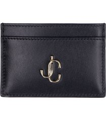 jimmy choo umika smooth leather card holder