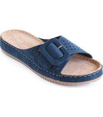 priceshoes sandalia confort dama 162402azul