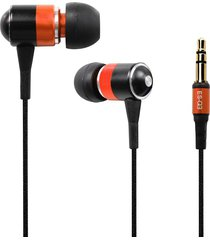 audífonos bluetooth, es-q3 universal 3.5mm atado con alambre estupendo bajo ruidoso volumen auricular interno (anaranjado)