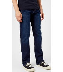 emporio armani men's 5 pocket slim denim jeans - denim blue - w38/l34 - blue