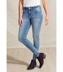 maurices womens jeans denimflex™ medium wash jegging blue denim