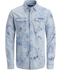 jack & jones men's premium long sleeve woven shirt