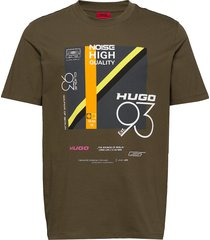 debel t-shirts short-sleeved grön hugo