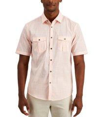 alfani men's warren two pocket shirt, created for macy's