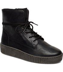 ankle boots shoes boots ankle boots ankle boots flat heel svart gabor