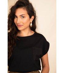 femme9 shirt / top zwart clairy