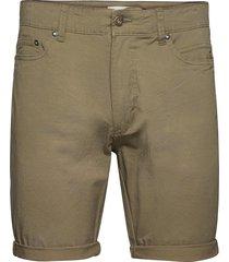 sdpovl 5-pocket jeansshorts denimshorts grön solid