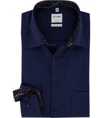 olymp luxor comfort fit shirt donkerblauw
