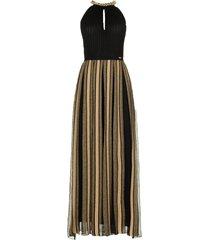 gebreide glitter jurk tobia  zwart