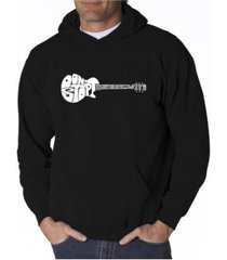 la pop art men's word art hooded sweatshirt - don't stop believin
