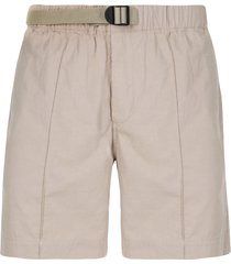 venroy belted chino shorts - neutrals