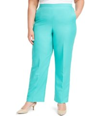 alfred dunner plus size miami beach pull-on pants