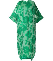 bambah isabella kaftan and dress - green