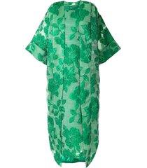 bambah isabella kaftan and dress - green