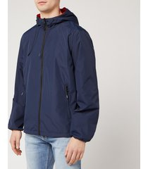 kenzo men's reversible windbreaker jacket - midnight blue - xxl