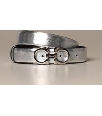 salvatore ferragamo belt salvatore ferragamo gancini belt in score leather