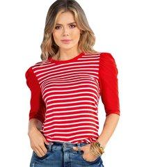 blusa para mujer rojo atypical