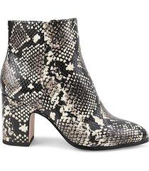 block-heel booties