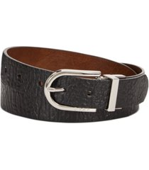 dkny buffalo-glaze reversible belt