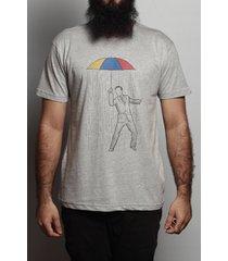 camiseta ombrelo rain