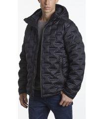 perry ellis men's tech puffer jacket