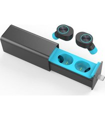 audífonos bluetooth inalámbricos manos libres gw10 - azul