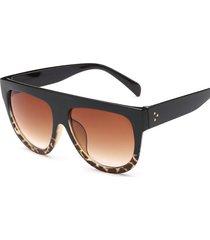 donne classic clear large frame anti-uv occhiali outdoor casual occhiali da sole unici