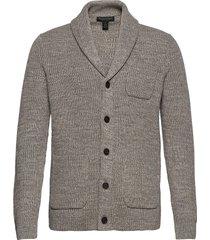 supima® cotton cardigan sweater gebreide trui cardigan grijs banana republic