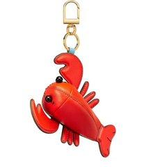 tory burch luke the lobster pouch key fob